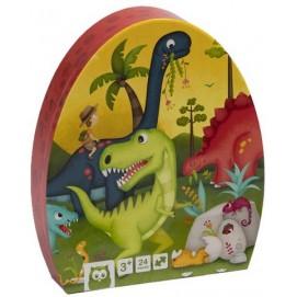 Puzzle  Educativ - 24 Piese - Dinozaur
