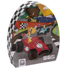 Puzzle Educativ - 36 Piese - Karting