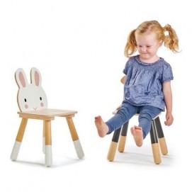 Scăunel Forest Rabbit (Tender Leaf Toys)
