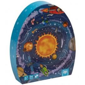 Puzzle Educativ - 54 Piese - Sistemul Solar